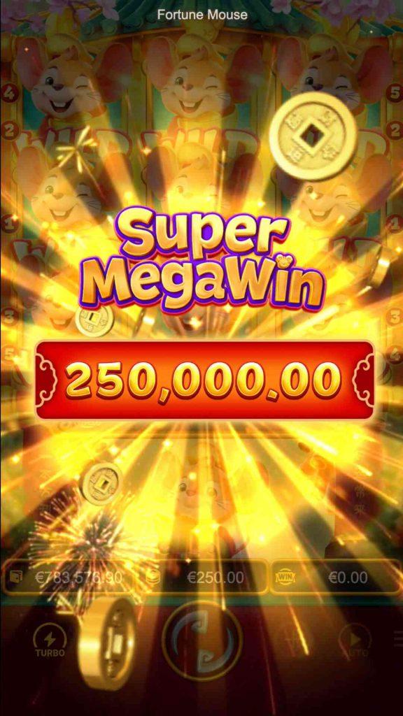 Fortune Mouse super mega win