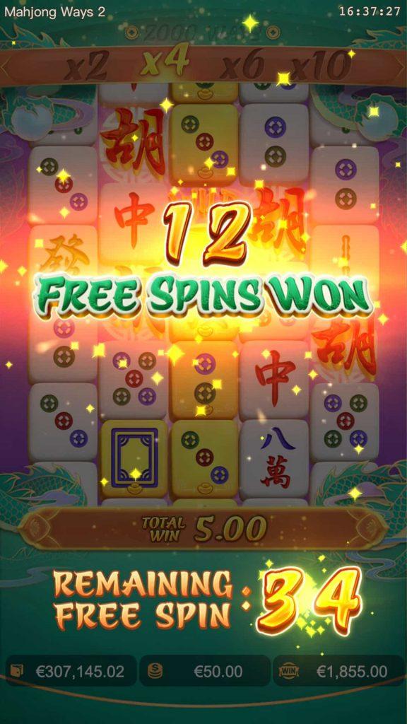 Mahjong Ways 2 freespins