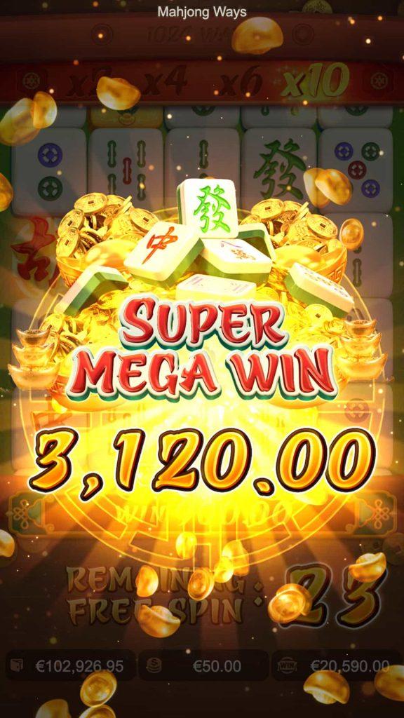 Mahjong Ways super mega win