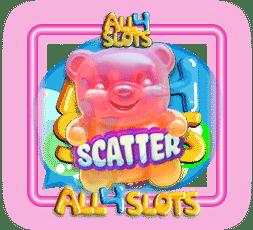 candy burst scatter