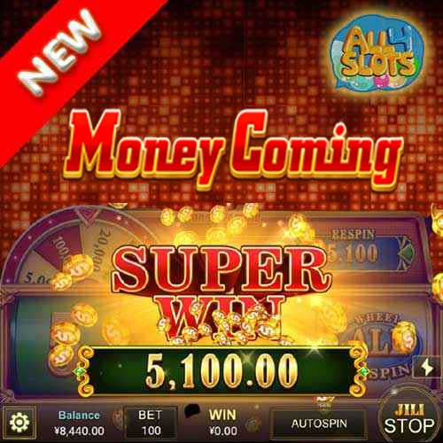 Money Coming banner
