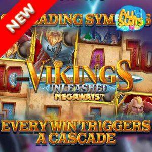 VIKINGS UNLEASHED MEGAWAYS Banner