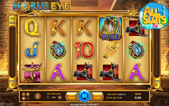 horus-eye-slot-demo
